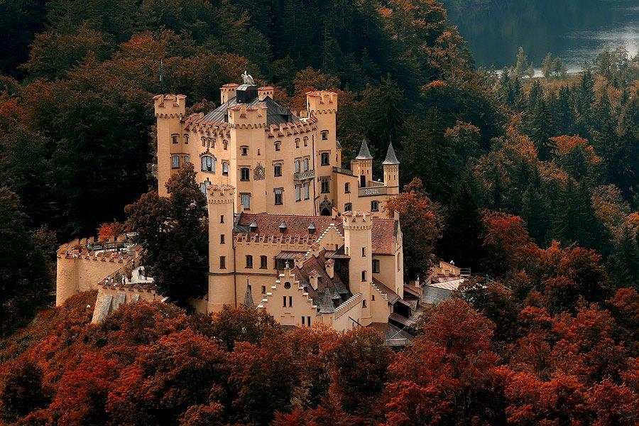 Castello Hohenshwangau Baviera