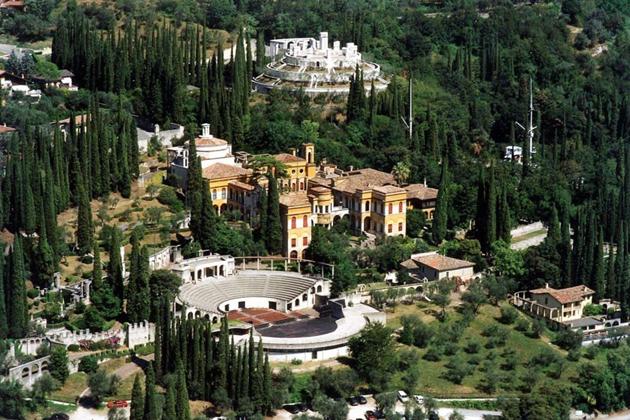 Il Vittoriale degli italiani o casa di Gabriele D'annunzio