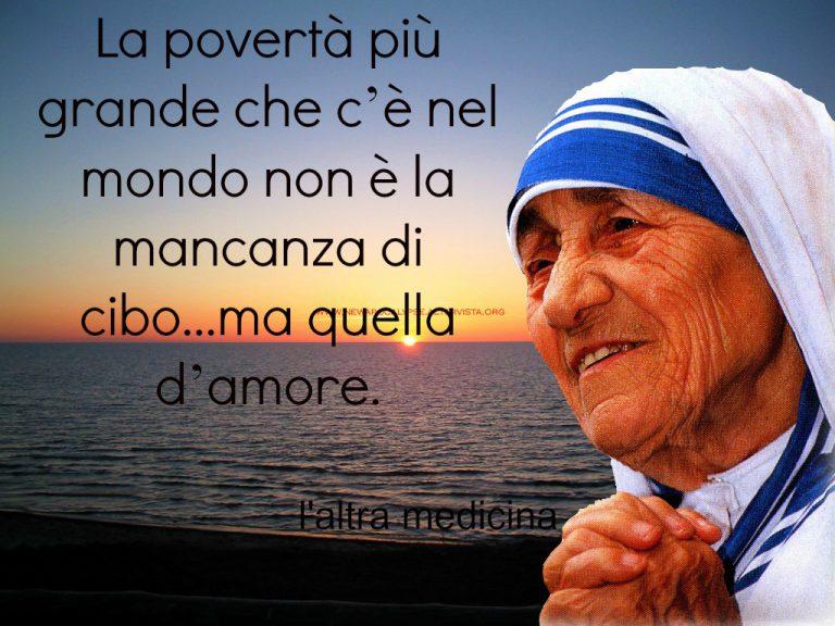 Grazie Madre Teresa